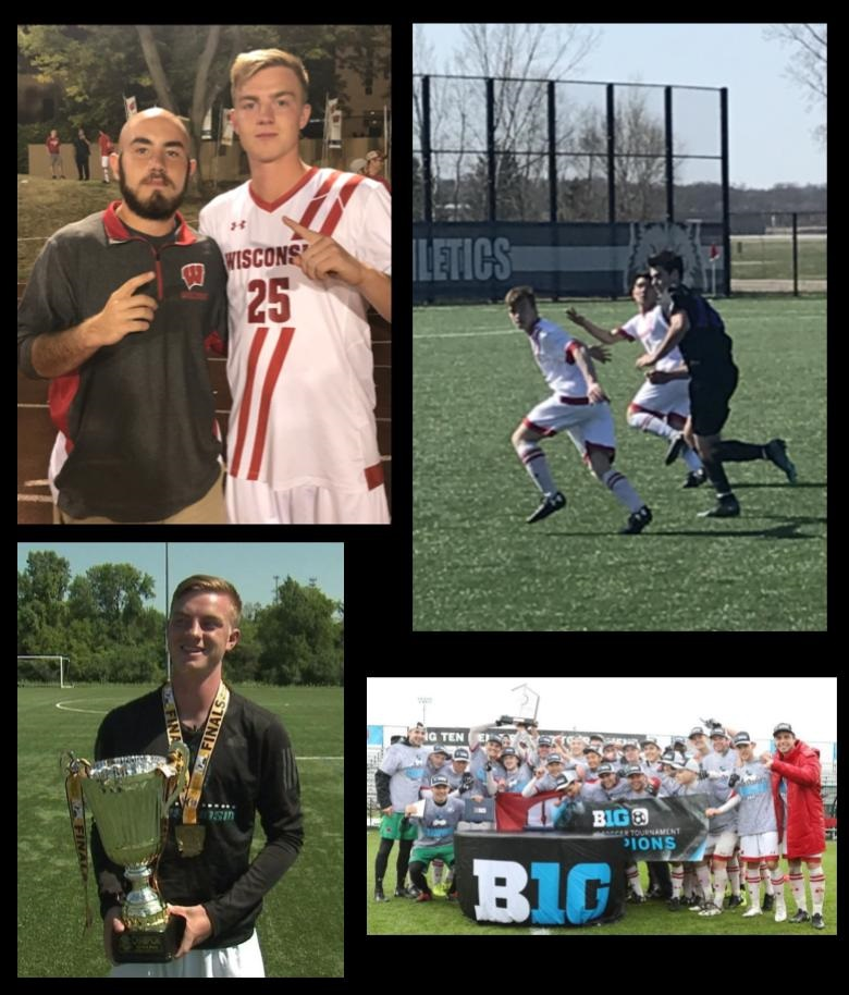 Leas wins Big Ten Championship in first season as a Badger