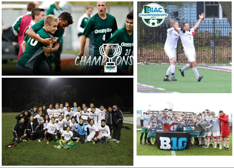 Conference Championships, National Tournament Bids and Player Awards; FC Wisconsin Alums Finding Success at the Collegiate Level